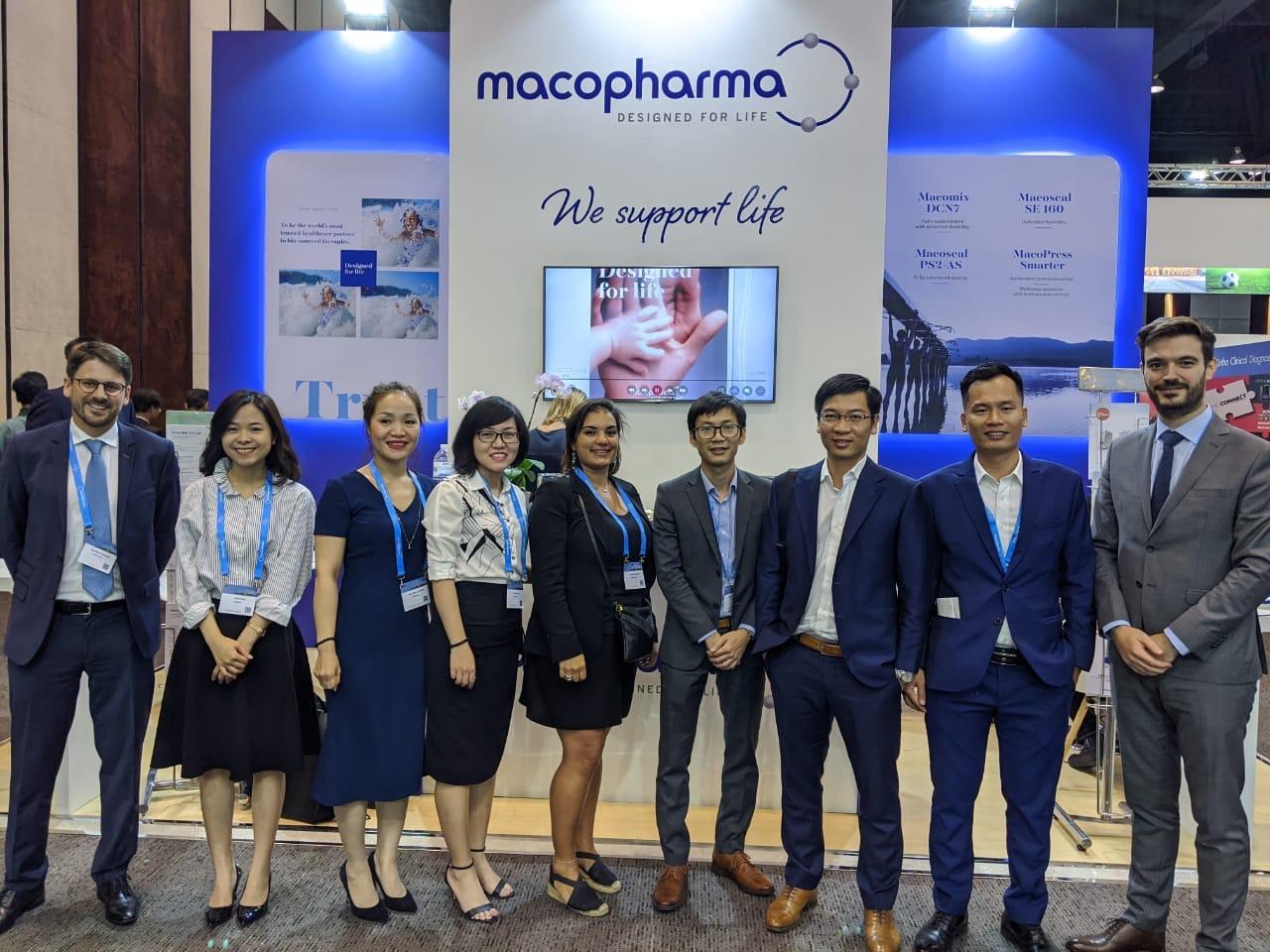 Medcomtech cùng đối tác Macopharma tham dự hội nghị ISBT 2019 tại Bangkok