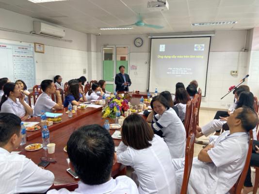 """Medcomtech tham dự Hội thảo """" Vai trò Vi Sinh Lâm Sàng"""" tại Khoa Vi Sinh – Bệnh viện Trung Ương Thái Nguyên"""