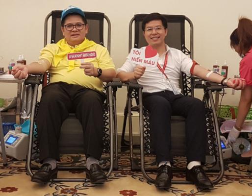 Công ty Cổ phần Medcomtech tham gia chương trình Hiến Máu Nhân Đạo tại Đại sứ quán Vương quốc Thái Lan