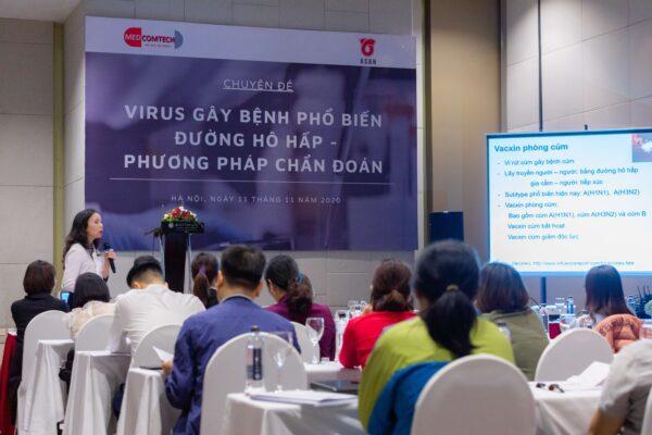 Vi sinh hô hấp:  Virus gây bệnh phổ biến đường hô hấp – Phương pháp chẩn đoán